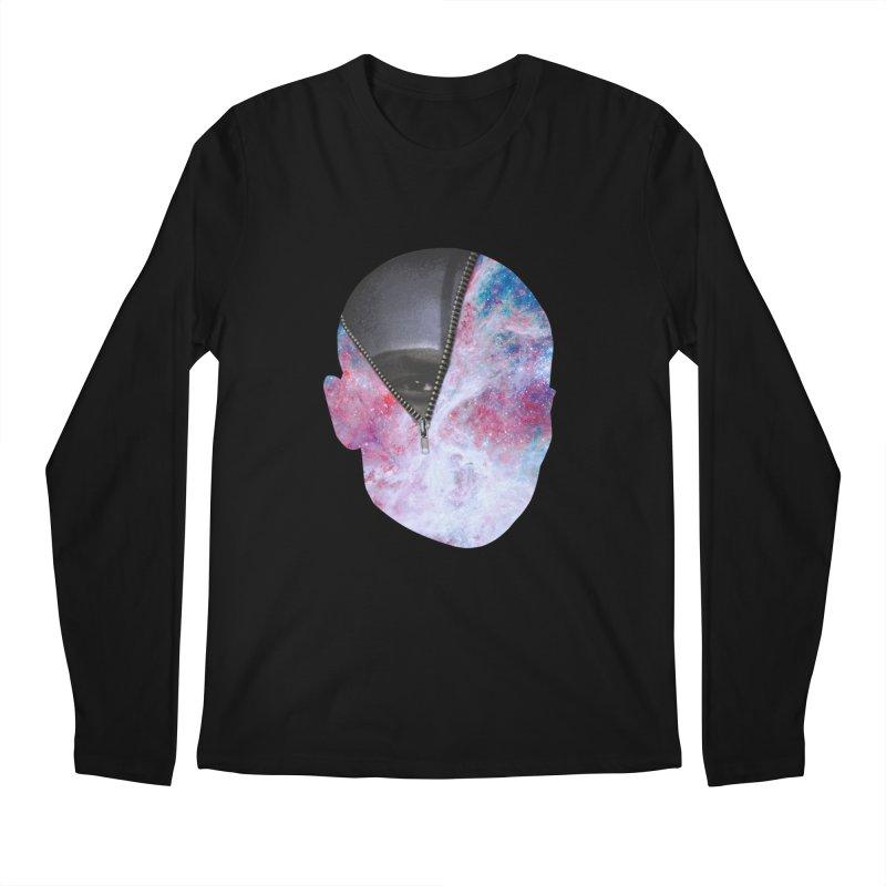YOUNIVERSE Men's Regular Longsleeve T-Shirt by Trevor Davis's Artist Shop