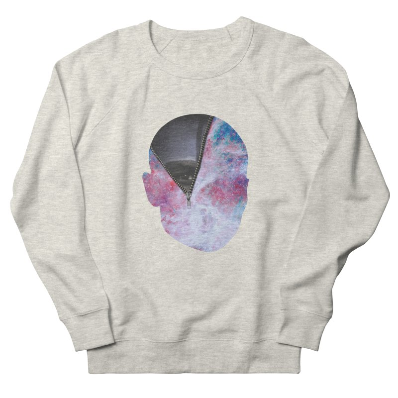 YOUNIVERSE Men's French Terry Sweatshirt by Trevor Davis's Artist Shop