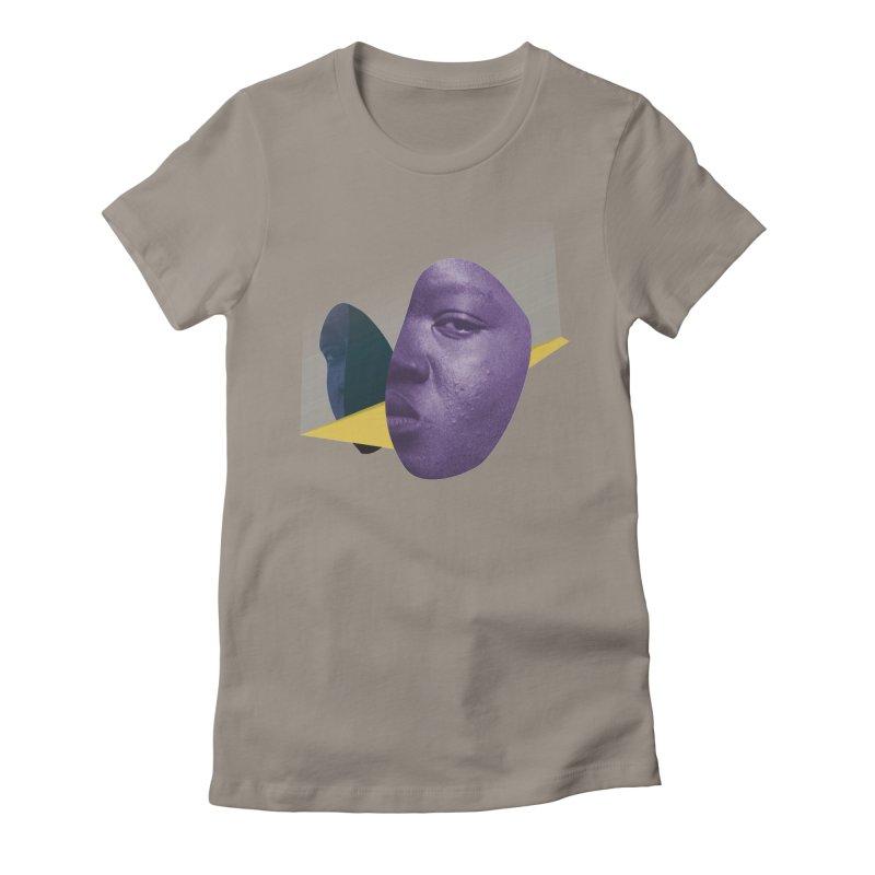 SPLT NRRTV Women's Fitted T-Shirt by Trevor Davis's Artist Shop