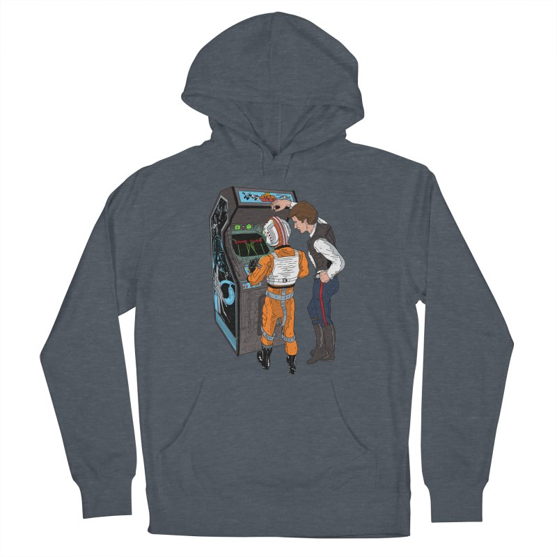 Great Shot, Kid Women's Pullover Hoody by BAM POP's Shirt Shop