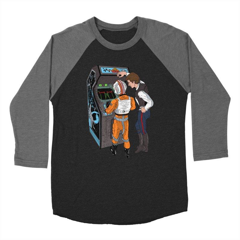 Great Shot, Kid Women's Baseball Triblend T-Shirt by BAM POP's Shirt Shop
