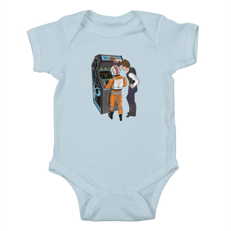 Great Shot, Kid Kids Baby Bodysuit by BAM POP's Shirt Shop