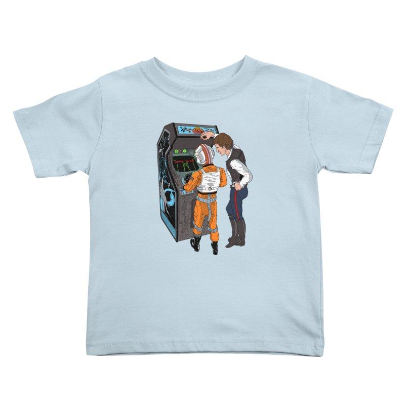Great Shot, Kid Kids Toddler T-Shirt by BAM POP's Shirt Shop