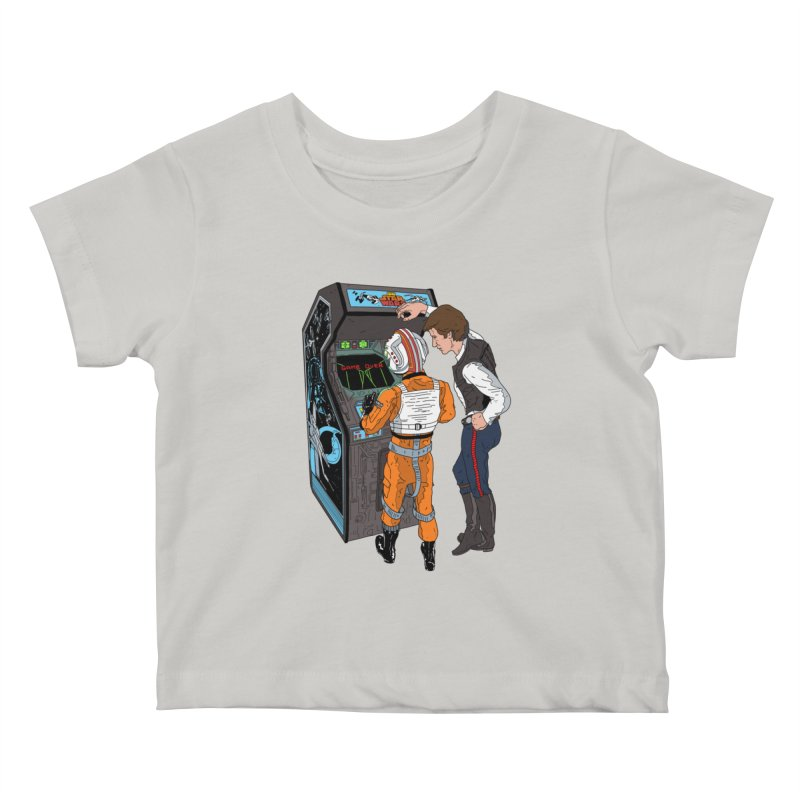 Great Shot, Kid Kids Baby T-Shirt by BAM POP's Shirt Shop