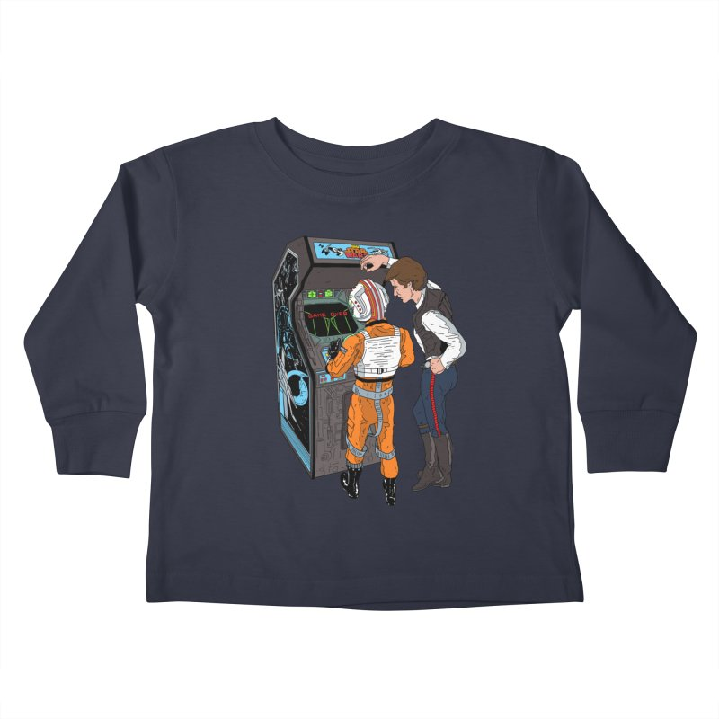 Great Shot, Kid Kids Toddler Longsleeve T-Shirt by BAM POP's Shirt Shop