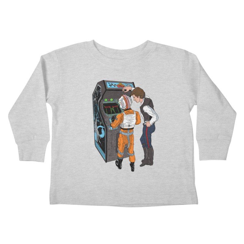 Great Shot, Kid Kids Toddler Longsleeve T-Shirt by BAM POP's Shirt Shop