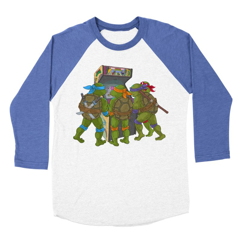 4 Player Game Women's Baseball Triblend T-Shirt by BAM POP's Shirt Shop