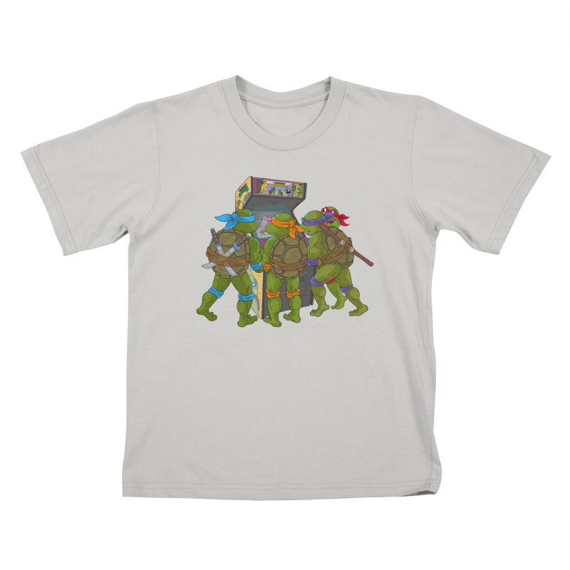 4 Player Game Kids T-shirt by BAM POP's Shirt Shop