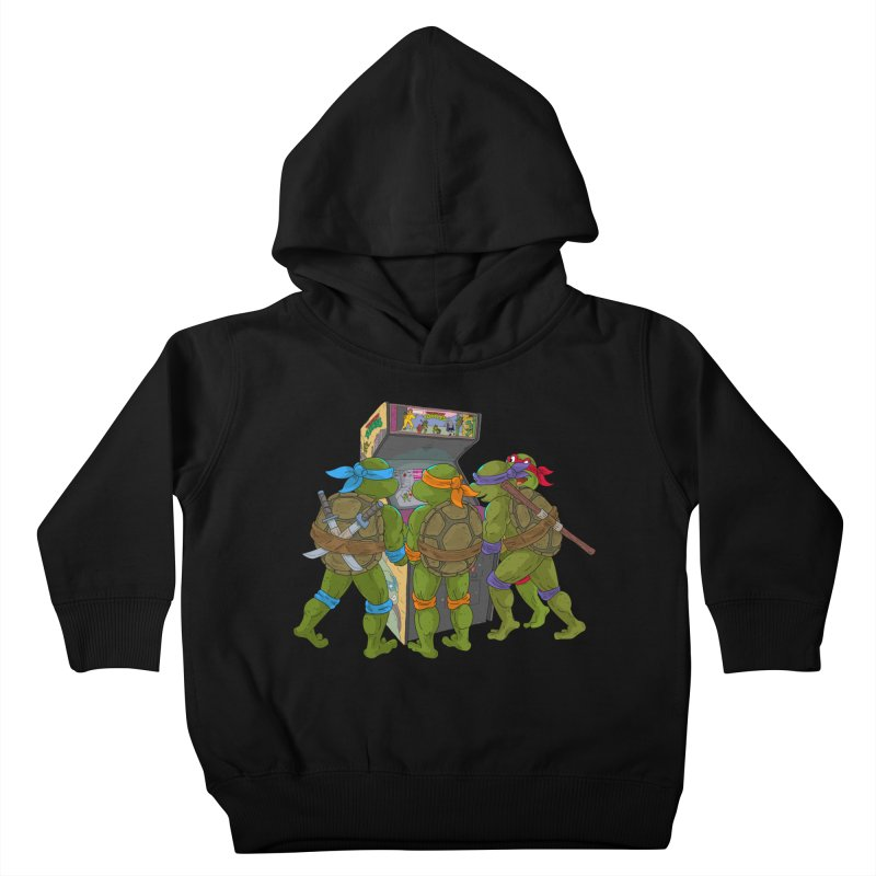 4 Player Game Kids Toddler Pullover Hoody by BAM POP's Shirt Shop