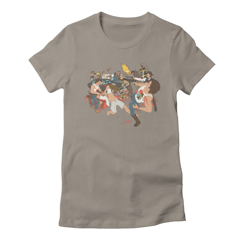 Russellmania Women's Fitted T-Shirt by BAM POP's Shirt Shop