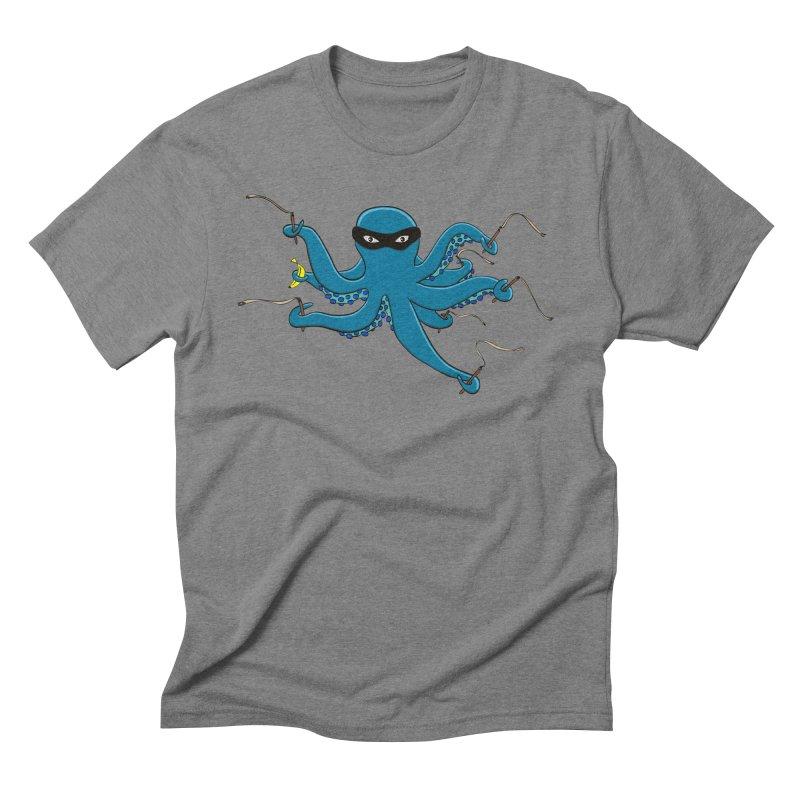 Violent Octopussy Men's Triblend T-Shirt by bananawear Artist Shop