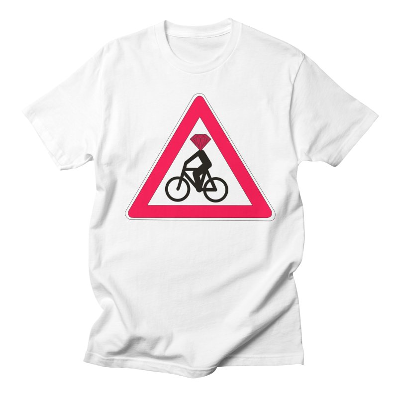 Diamond On Board Men's Regular T-Shirt by bananawear Artist Shop