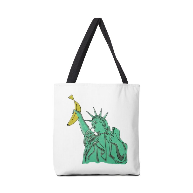 Banana of Liberty in Tote Bag by bananawear Artist Shop