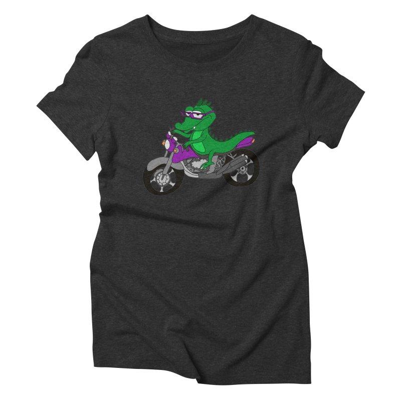 Motokarodil Women's Triblend T-Shirt by bananawear Artist Shop