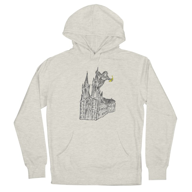 Godly Kong Women's French Terry Pullover Hoody by bananawear Artist Shop