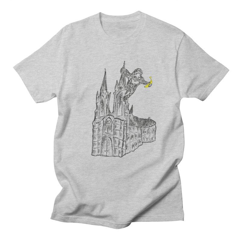 Godly Kong Men's T-Shirt by bananawear Artist Shop