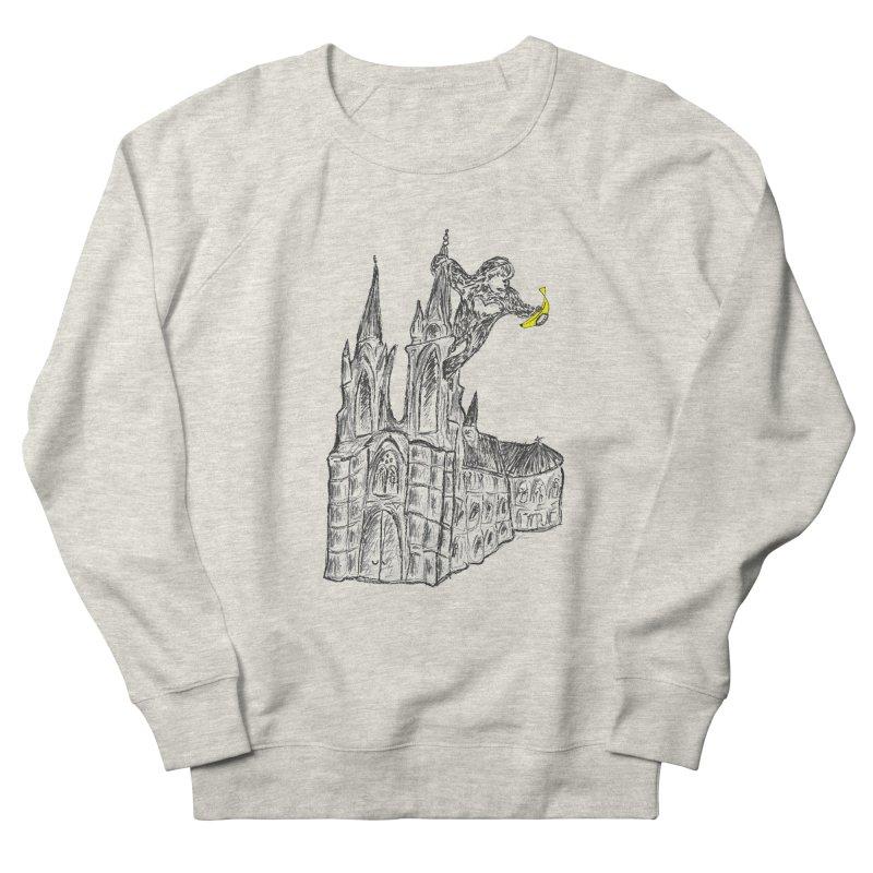Godly Kong Women's French Terry Sweatshirt by bananawear Artist Shop