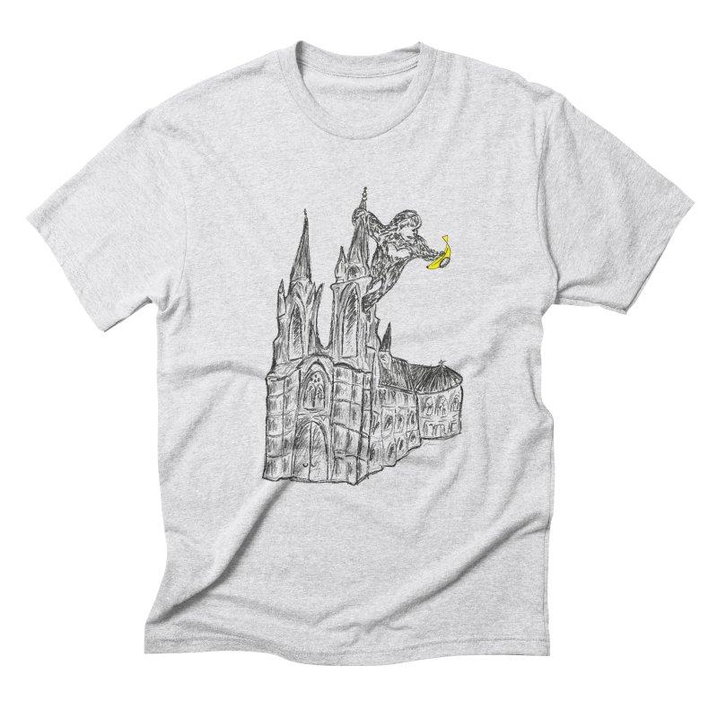Godly Kong Men's Triblend T-Shirt by bananawear Artist Shop