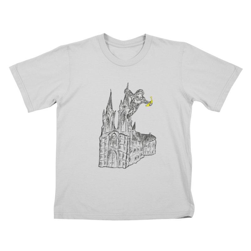 Godly Kong Kids T-Shirt by bananawear Artist Shop