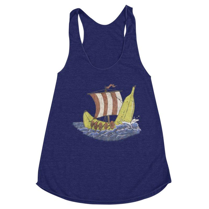 Bananaboat Women's Racerback Triblend Tank by bananawear Artist Shop