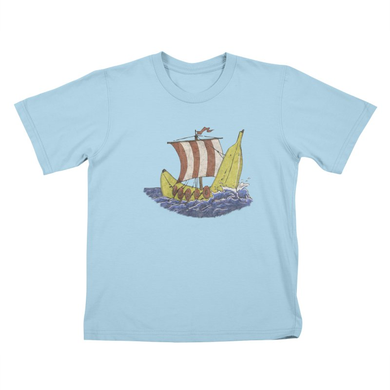 Bananaboat Kids T-Shirt by bananawear Artist Shop