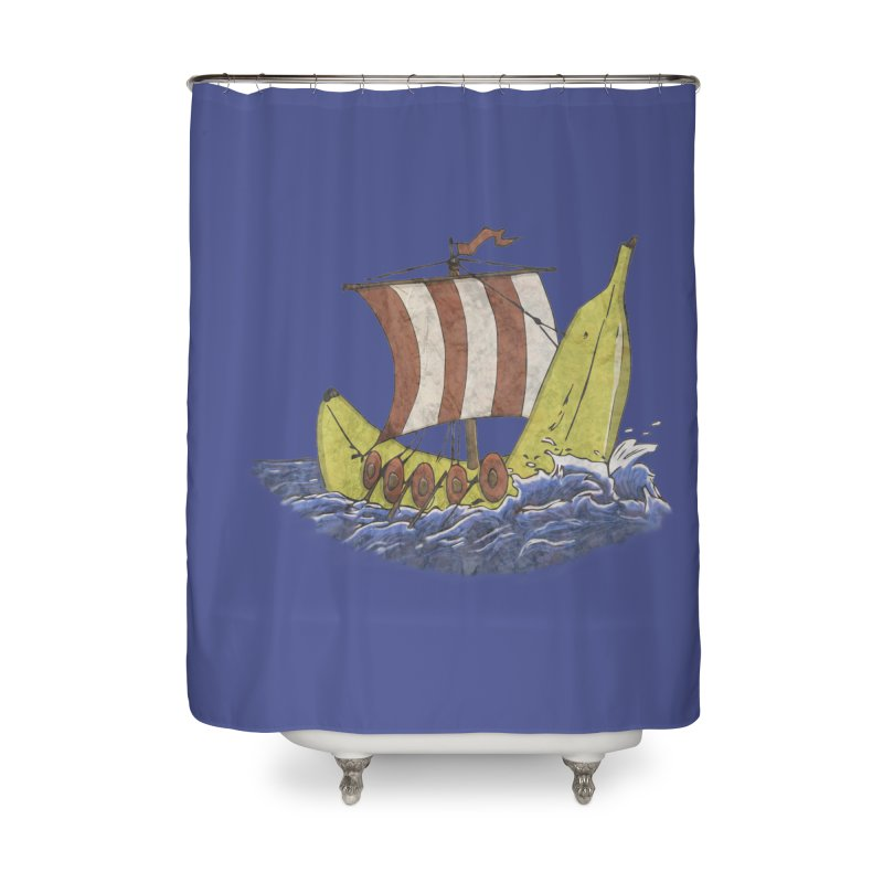 Bananaboat in Shower Curtain by bananawear Artist Shop
