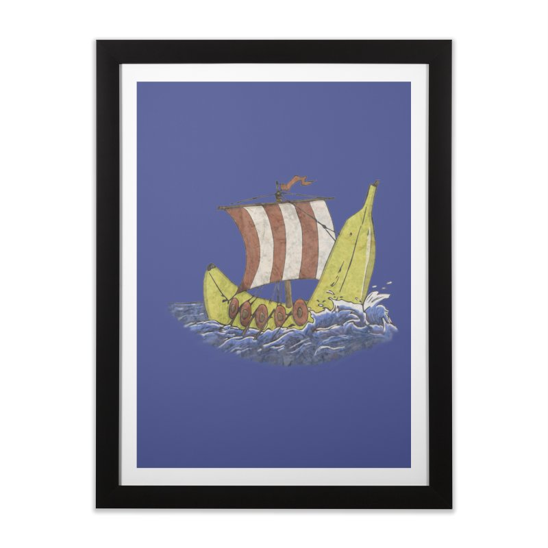 Bananaboat Home Framed Fine Art Print by bananawear Artist Shop