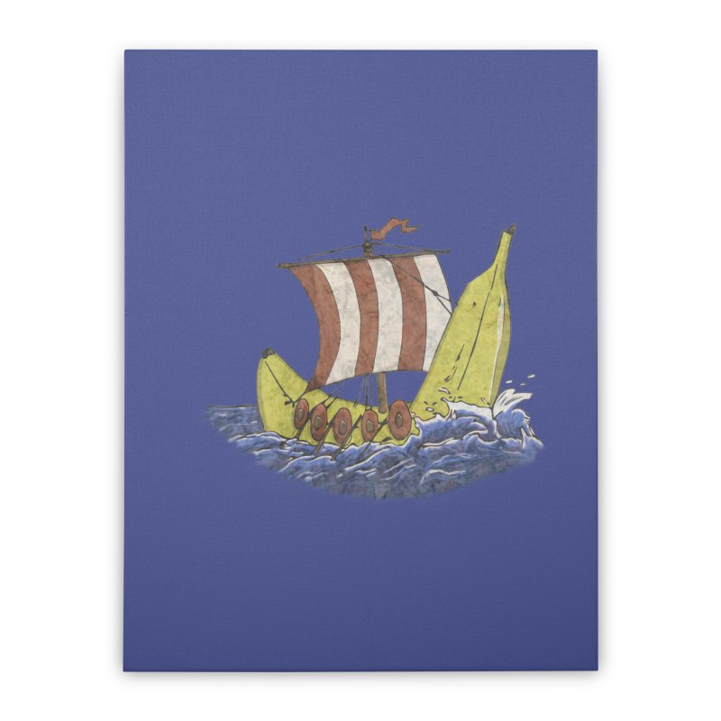 Bananaboat Home Stretched Canvas by bananawear Artist Shop
