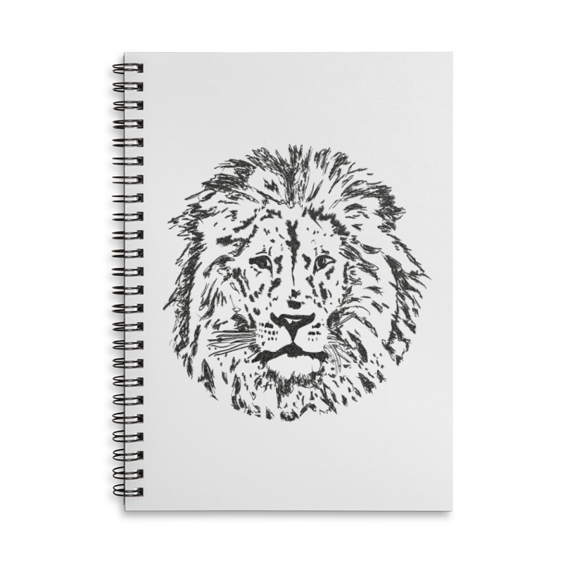 I.L.Z. Accessories Lined Spiral Notebook by bananawear Artist Shop