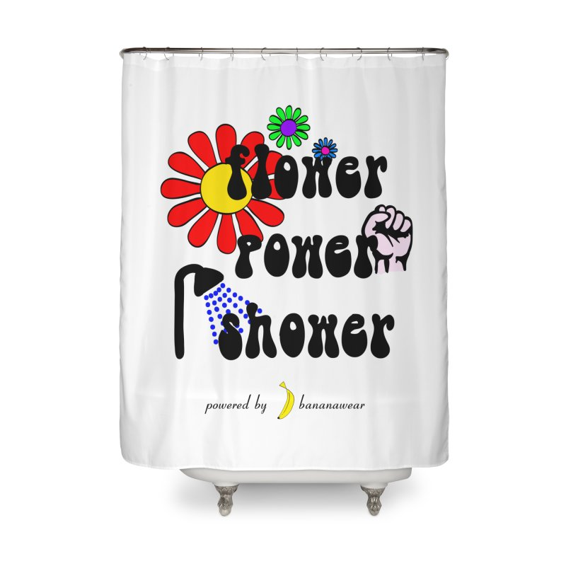 Flower Power Shower Home Shower Curtain by bananawear Artist Shop