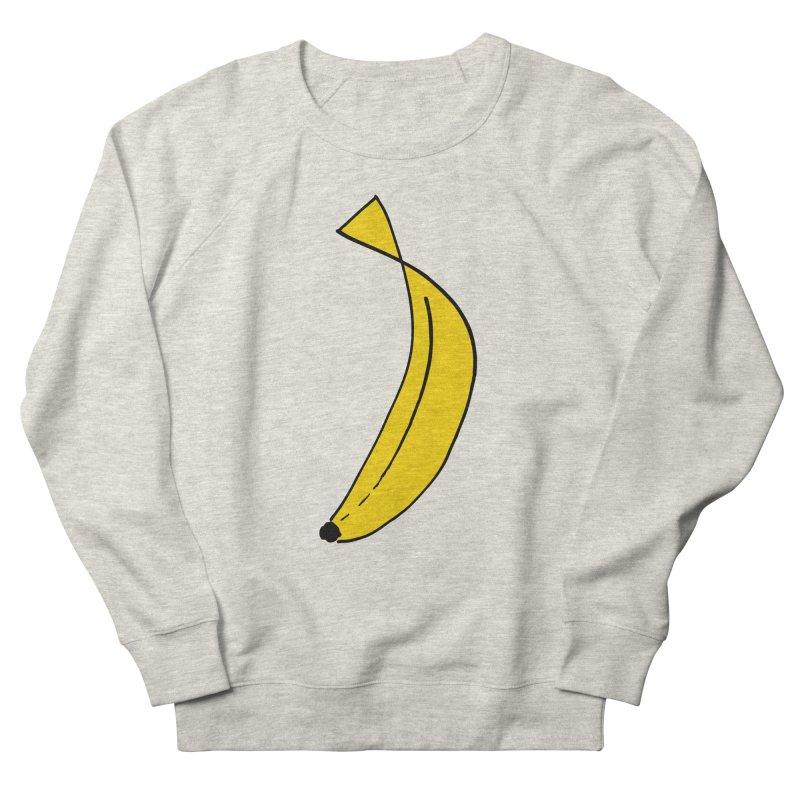 banana Women's French Terry Sweatshirt by bananawear Artist Shop