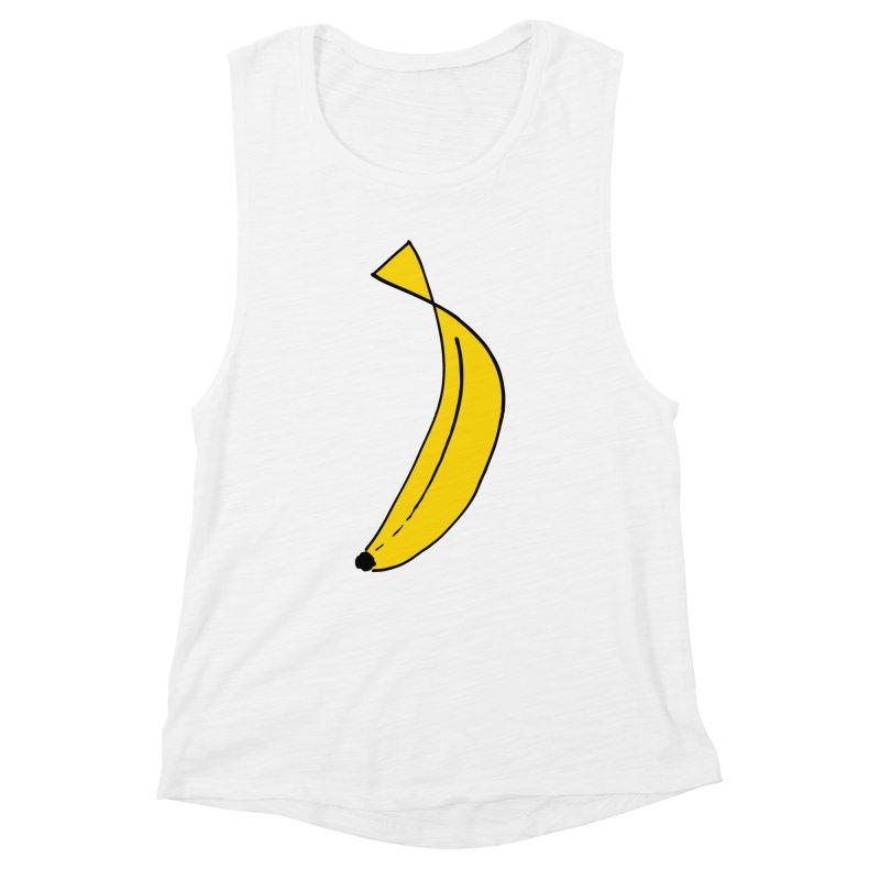 banana Women's Muscle Tank by bananawear Artist Shop