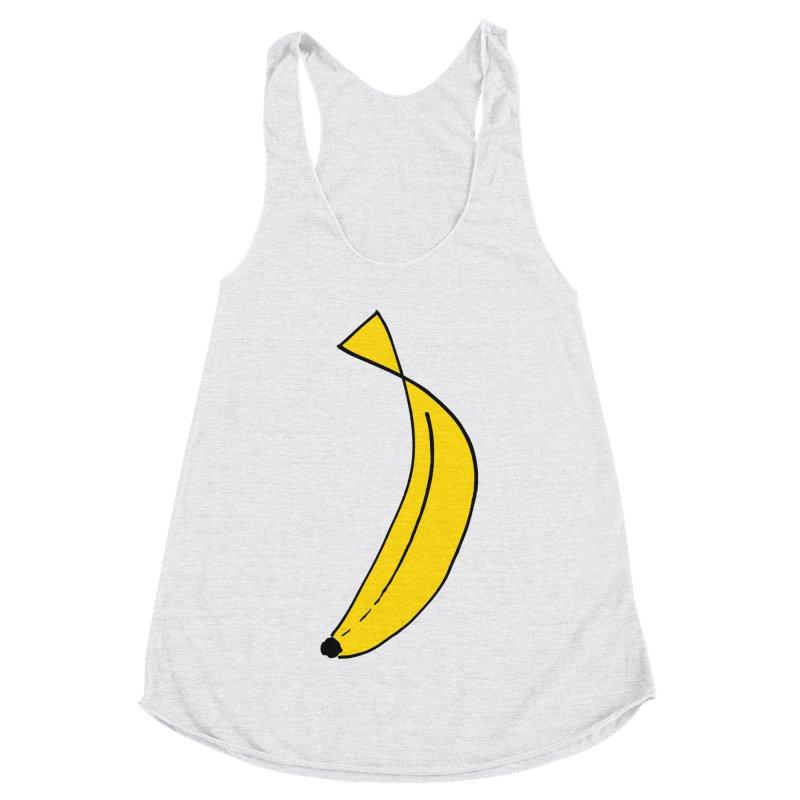 banana Women's Racerback Triblend Tank by bananawear Artist Shop