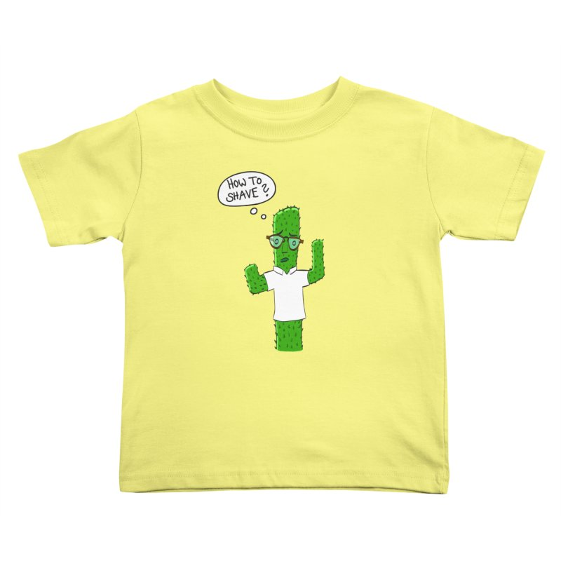 How to shave? Kids Toddler T-Shirt by bananawear Artist Shop