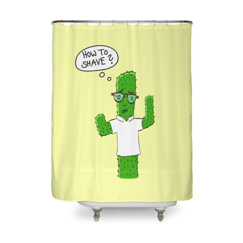 How to shave? Home Shower Curtain by bananawear Artist Shop