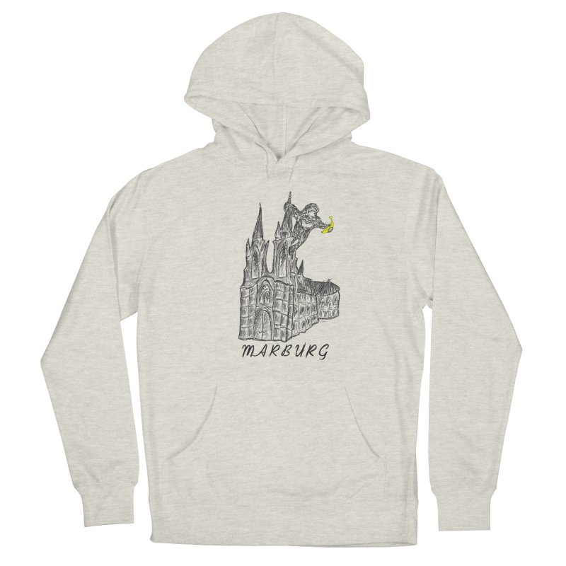 Godly Kong Marburg Special Men's French Terry Pullover Hoody by bananawear Artist Shop