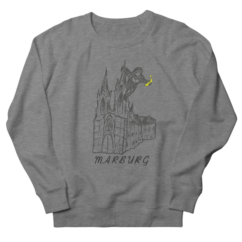 Godly Kong Marburg Special Women's French Terry Sweatshirt by bananawear Artist Shop