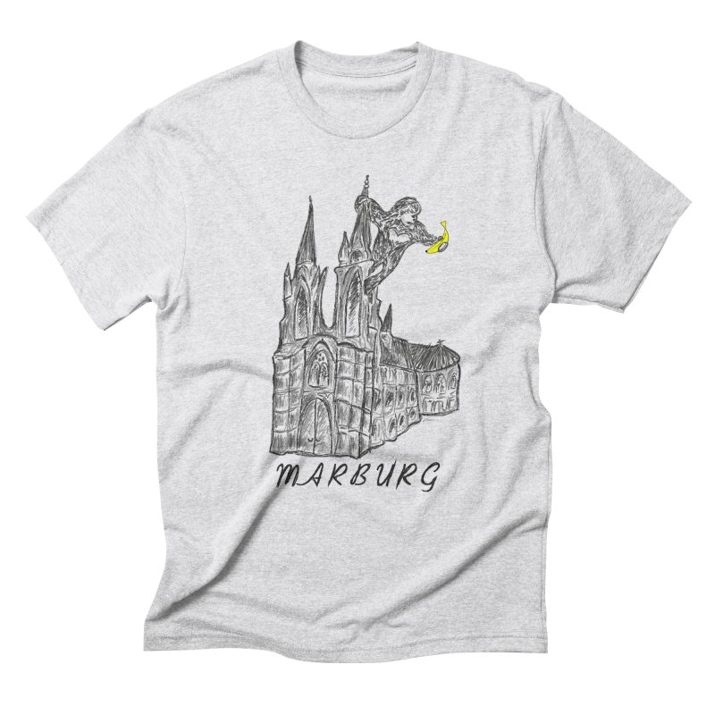 Godly Kong Marburg Special Men's Triblend T-Shirt by bananawear Artist Shop