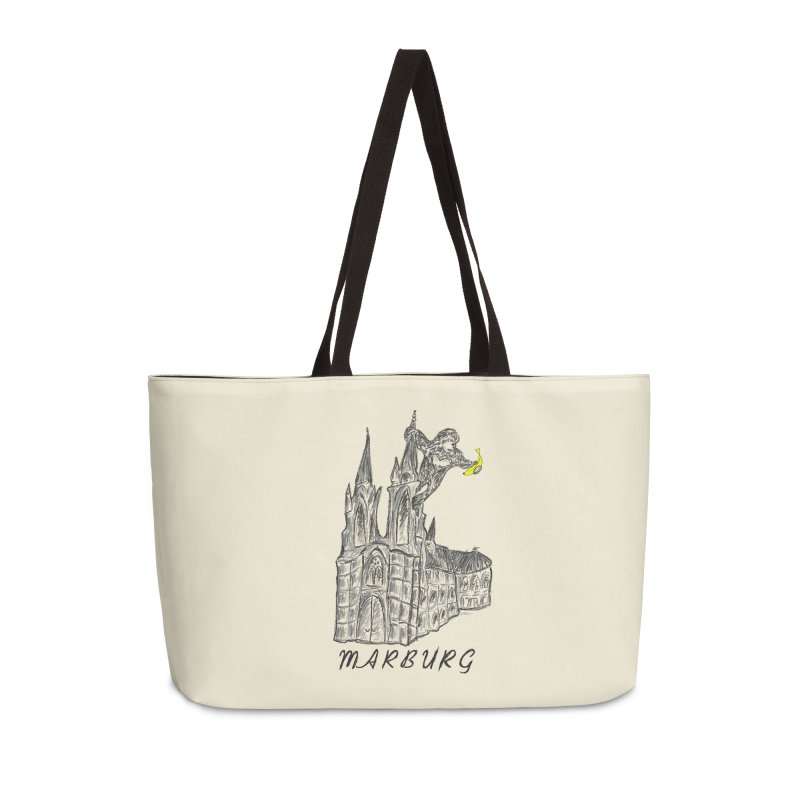 Godly Kong Marburg Special Accessories Weekender Bag Bag by bananawear Artist Shop