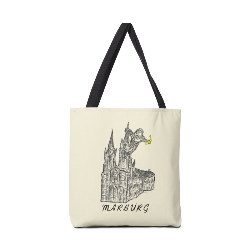 Godly Kong Marburg Special Accessories Tote Bag Bag by bananawear Artist Shop