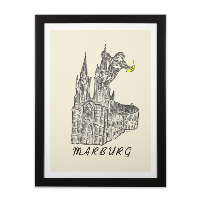 Godly Kong Marburg Special Home Framed Fine Art Print by bananawear Artist Shop