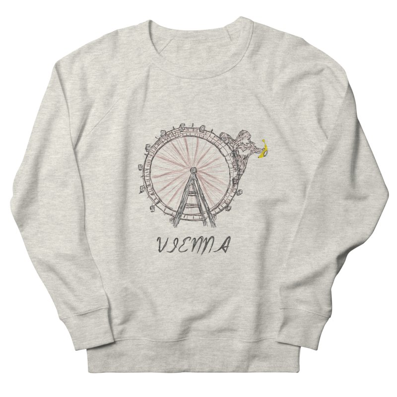 Kong in Vienna Men's French Terry Sweatshirt by bananawear Artist Shop