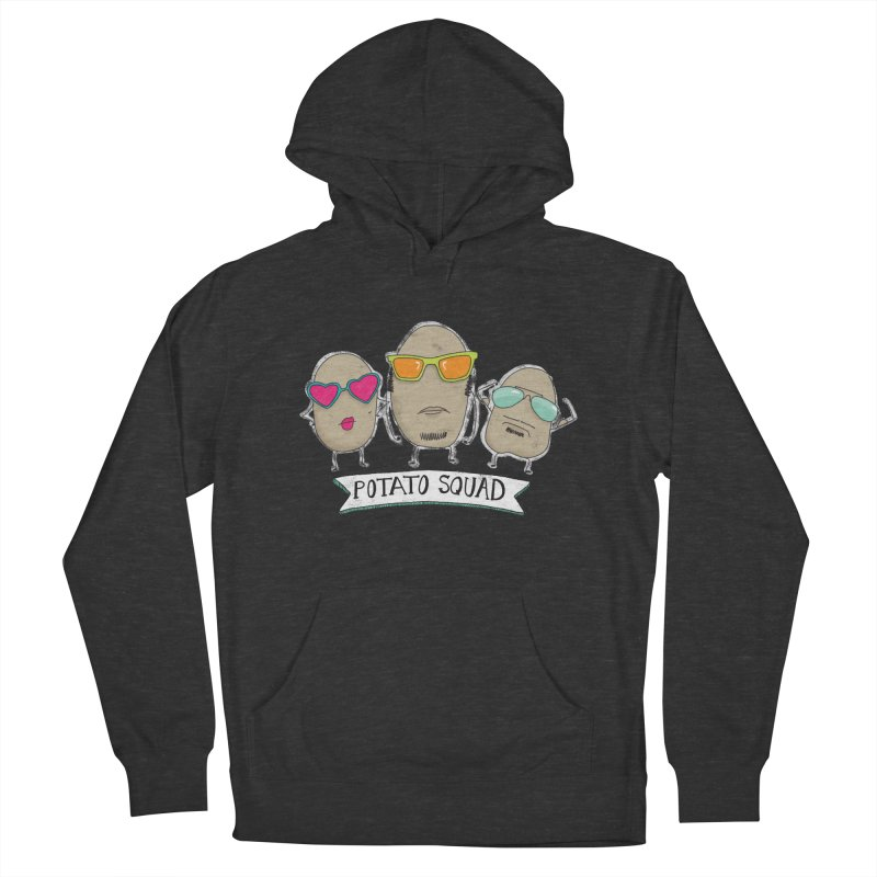 Potato Squad Women's French Terry Pullover Hoody by Potato Wisdom's Artist Shop