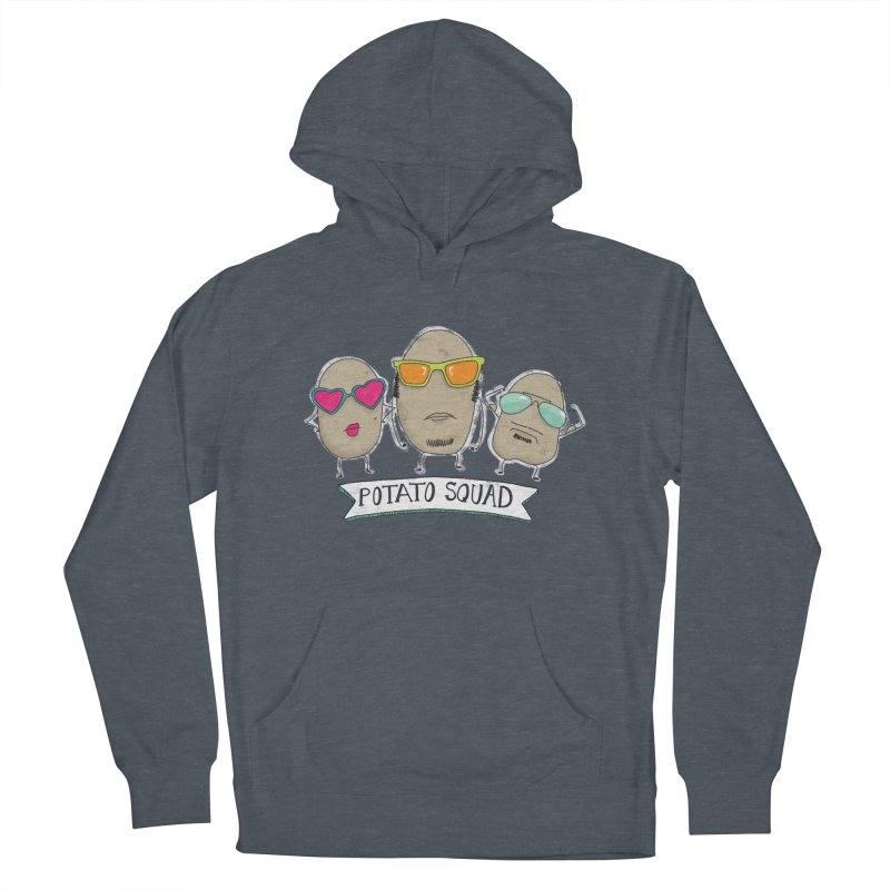 Potato Squad Men's French Terry Pullover Hoody by Potato Wisdom's Artist Shop
