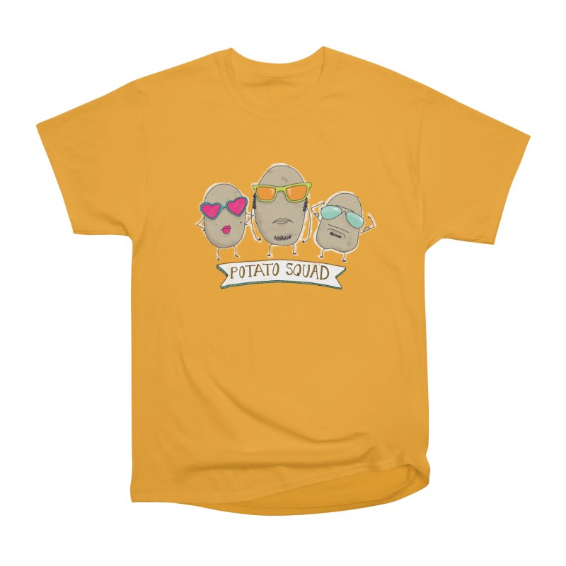 Potato Squad Men's Heavyweight T-Shirt by Potato Wisdom's Artist Shop