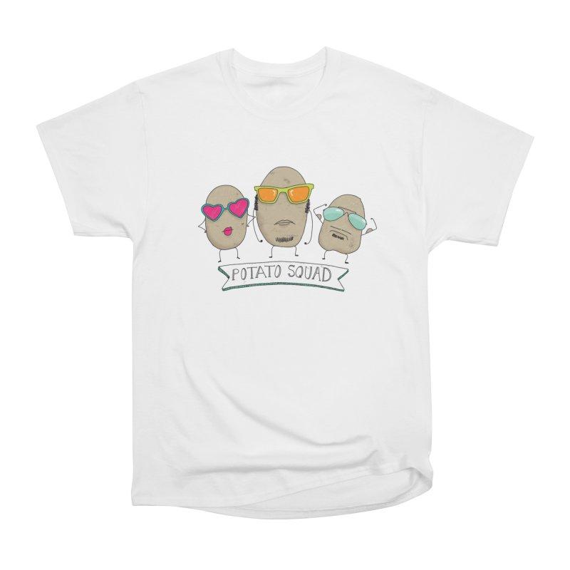 Potato Squad Women's Heavyweight Unisex T-Shirt by Potato Wisdom's Artist Shop