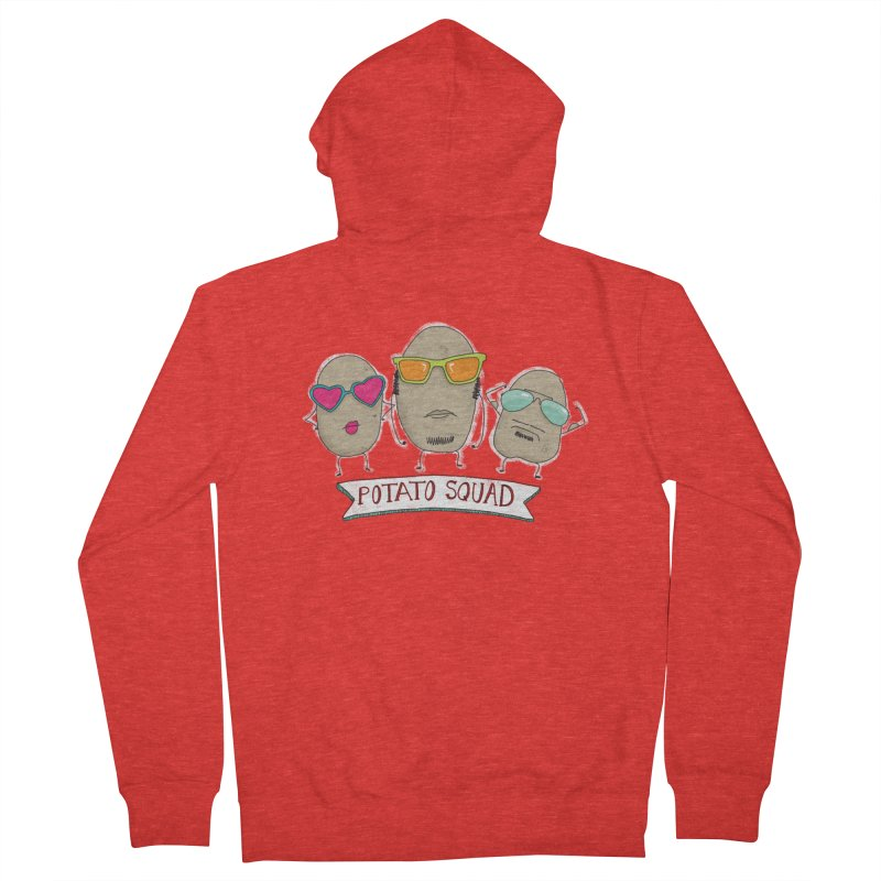Potato Squad Men's Zip-Up Hoody by Potato Wisdom's Artist Shop