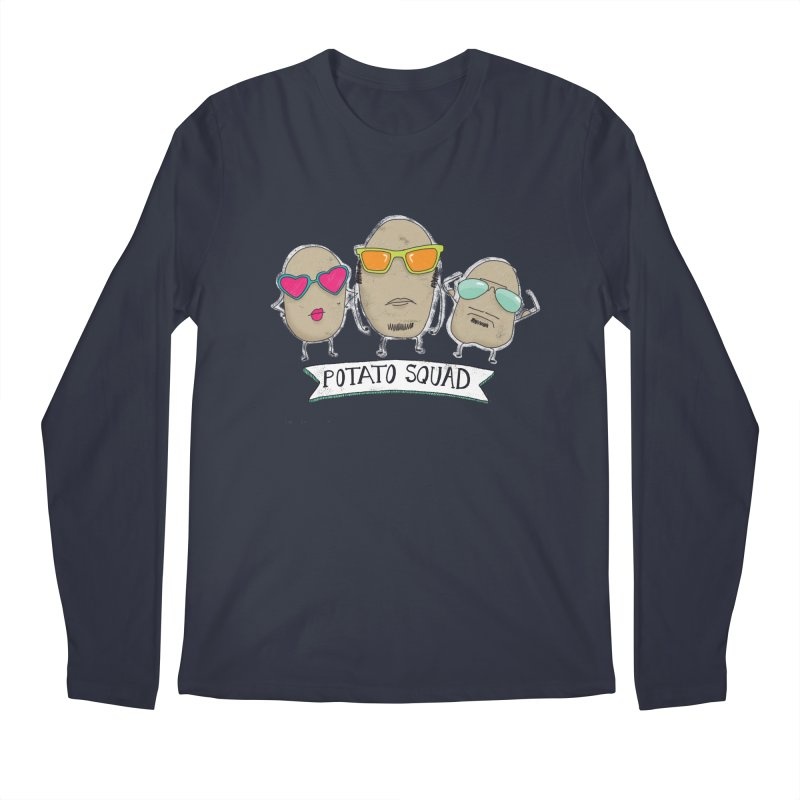 Potato Squad Men's Longsleeve T-Shirt by Potato Wisdom's Artist Shop