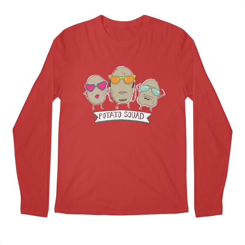 Potato Squad Men's Longsleeve T-Shirt by Potato Wisdom's Artist Shop