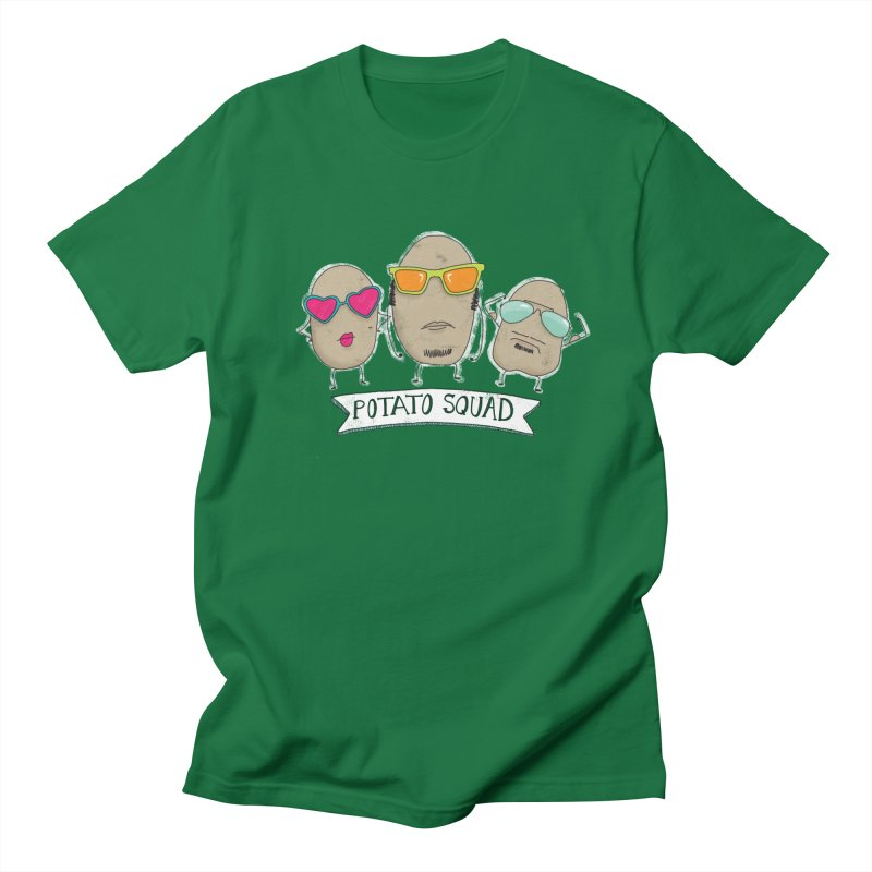 Potato Squad Women's Regular Unisex T-Shirt by Potato Wisdom's Artist Shop